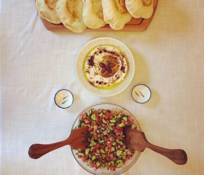 Easy Arab Summer Lunch